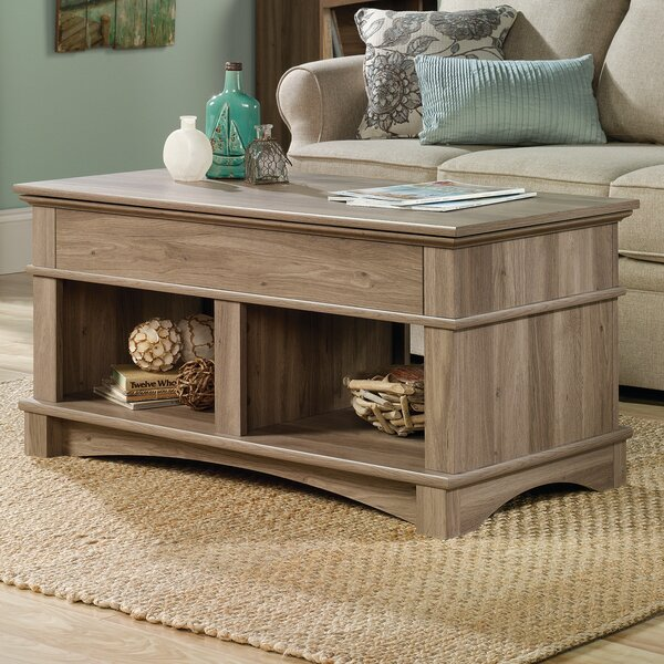 Beachcrest Home Pinellas Coffee Table With Lift Top U0026 Reviews | Wayfair