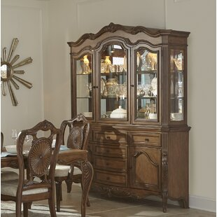 Whitcomb Console China Cabinet (Set Of 2)