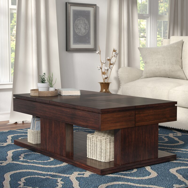 Janene Lift Top Coffee Table & Darby Home Co Janene Lift Top Coffee Table u0026 Reviews | Wayfair