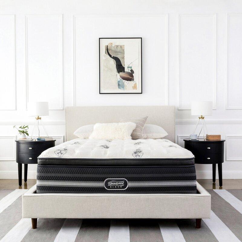 Simmons Beautyrest Beautyrest Black Katarina 15 Plush Pillow Top