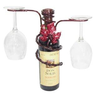 Grapevine 1 Bottle Tabletop Wine Rack