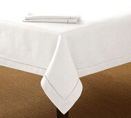 Lunenburg Hemstitch Single Border Tablecloth