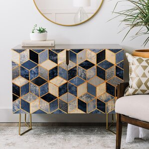 Elisabeth Fredriksson Cubes Credenza by East Urban Home