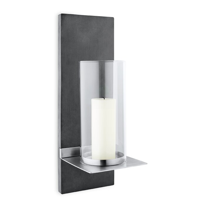 Blomus Finca Wall-Mounted Stainless Steel Sconce & Reviews ...
