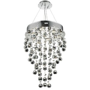 Deidamia 7-Light Semi Flush Mount