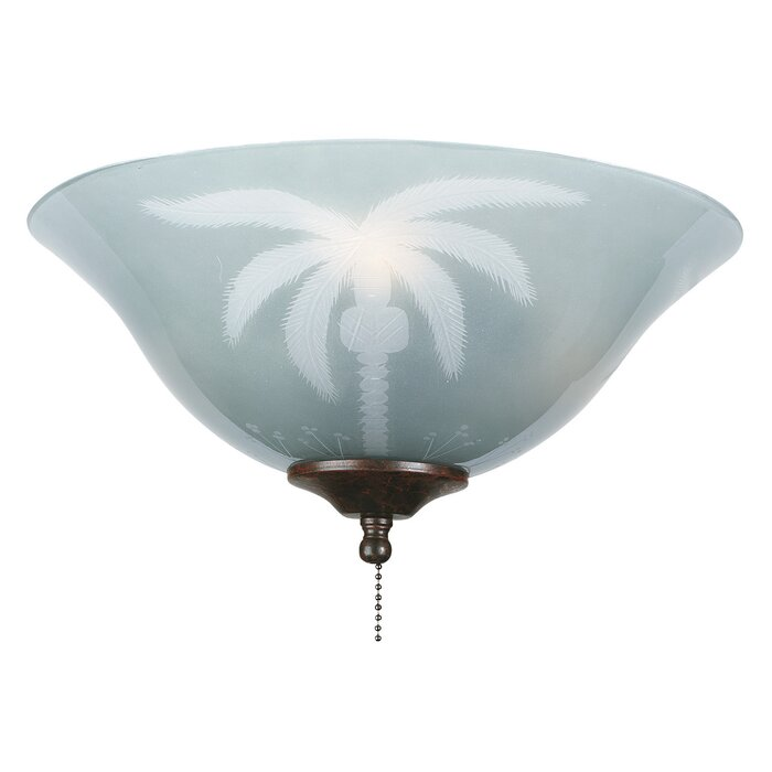13 glass ceiling fan bowl shade