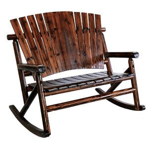 Leigh Country Char-Log Double Rocking Chair Image