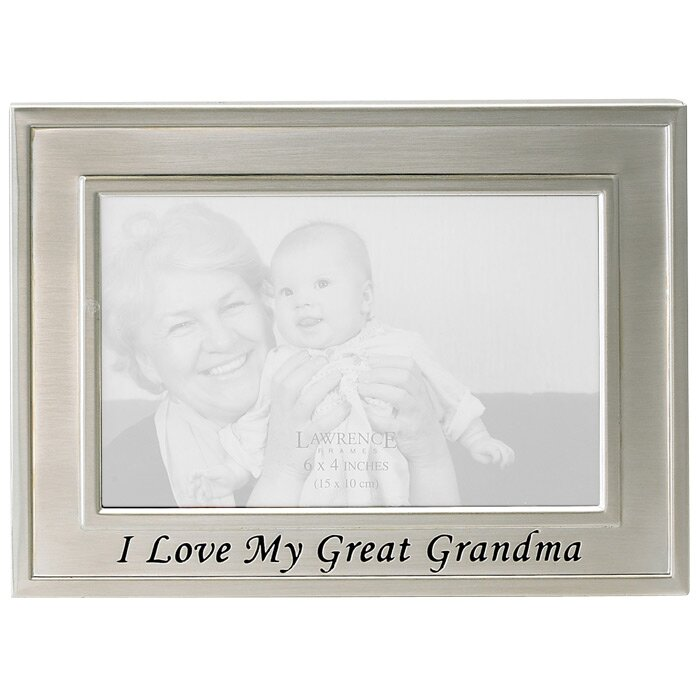 Lawrence Frames Sentiments I Love My Great Grandma Picture Frame ...