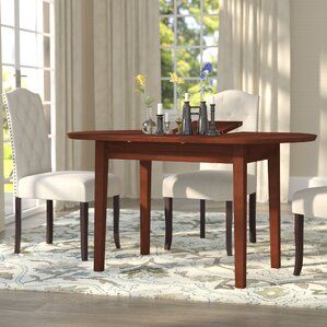 Antora Butterfly Extendable Dining TableOval Kitchen   Dining Tables You ll Love   Wayfair. Arlington Round Sienna Pedestal Dining Room Table W Chestnut Finish. Home Design Ideas