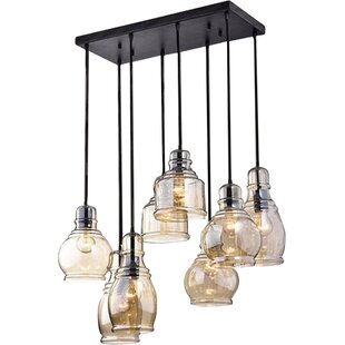Superbe Manon 8 Light Cluster Pendant