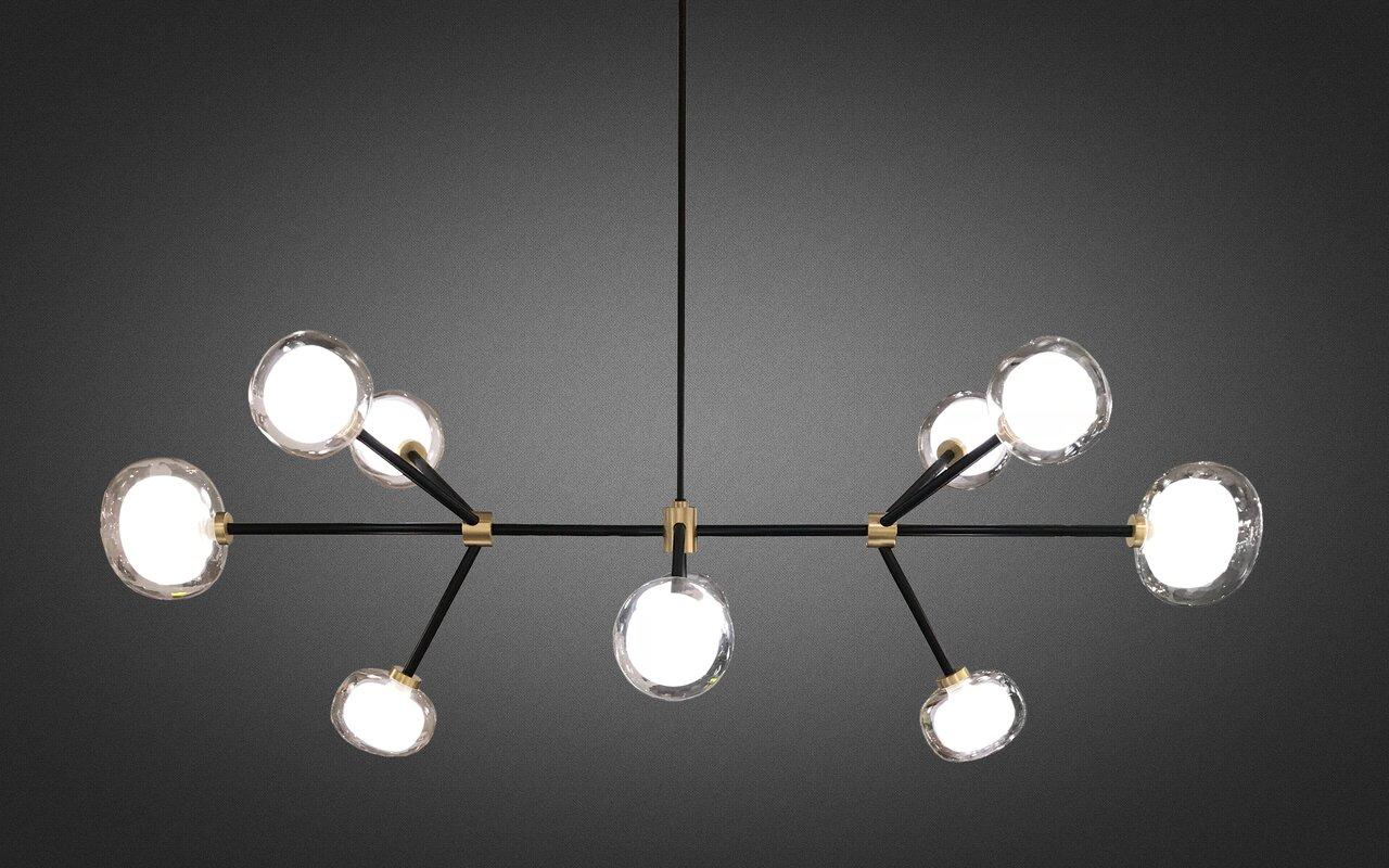 Oggetti Tooy Nabila 10-Light Sputnik Chandelier & Reviews | Wayfair