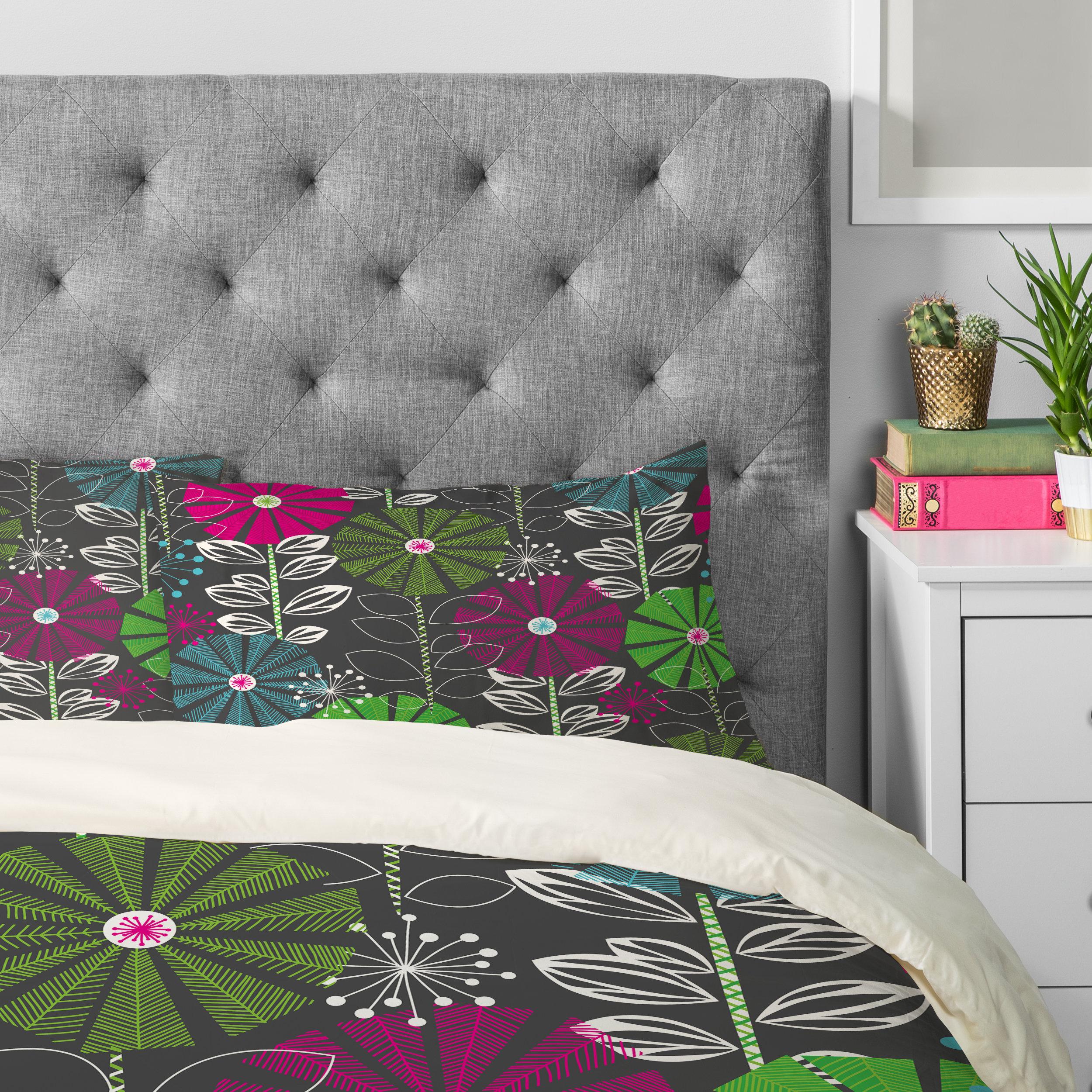 East Urban Home Cape Town Blooms Pillow Case Wayfair