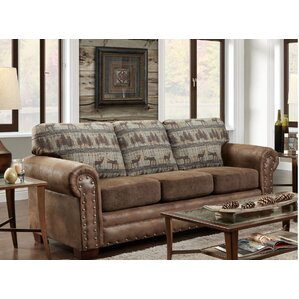 American Furniture Classics Teal Deer Lodge Sleeper Sofa Image
