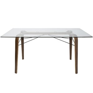 Armour Square Mid-Century Modern Dining Table by..