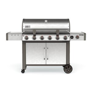 Genesis II LX S-640 6-Burner Natural Gas Grill with Cabinet