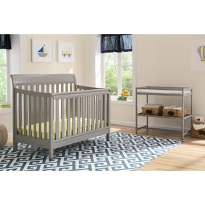 harbor 4in1 convertible 2 piece crib set