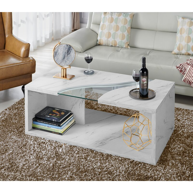 Beau Wrought Studio Hahn Coffee Table U0026 Reviews | Wayfair