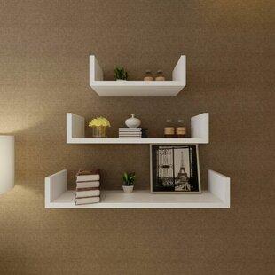 Dumas 3 Piece Floating Shelf Set