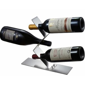 Chablis 3 Bottle Tabletop Wine Rack by Visol Products