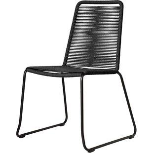 black patio dining chairs you ll love wayfair