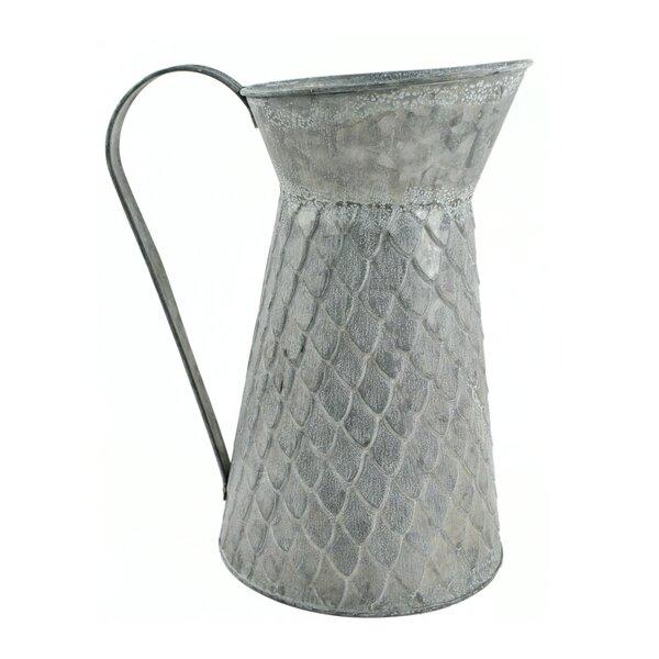 Galvanized Tin Vases Wayfair