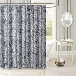 Stella Cotton Shower Curtain