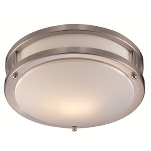 Brady 1-Light Flush Mount