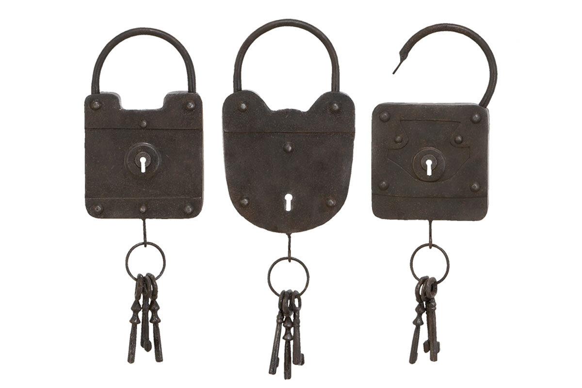 Metal Key Wall Dcor Set Reviews Birch Lane