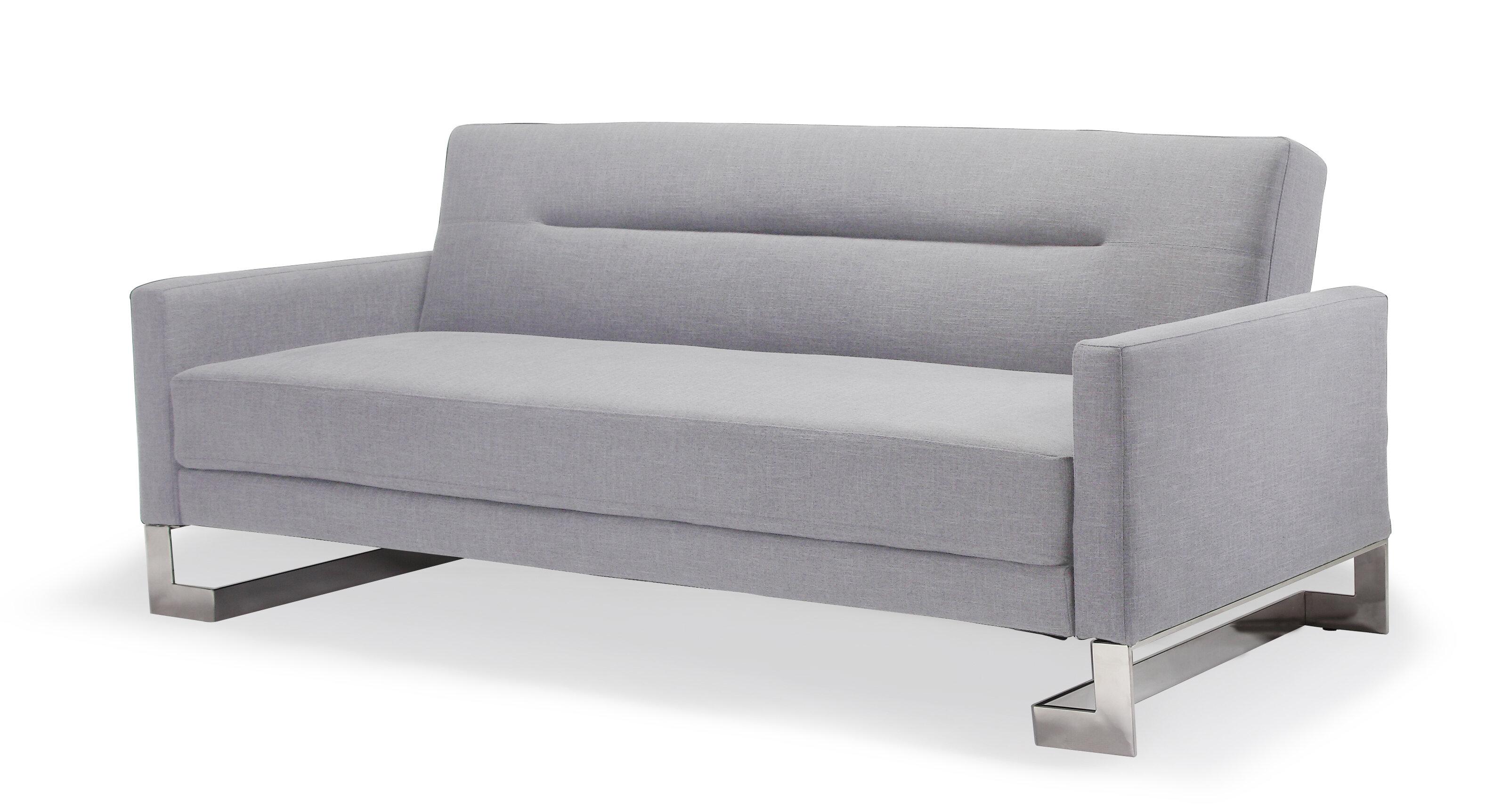 at home usa modern sleeper sofa reviews wayfair rh wayfair com modern sleeper sofas for small spaces modern sleeper sofas queen