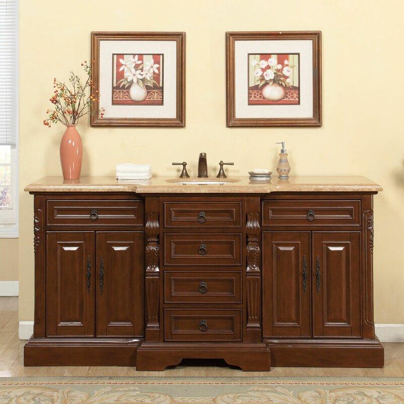 sink for bathroom vanity. 72  Single Sink Bathroom Vanity Set Silkroad Exclusive Reviews
