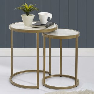 Ordinaire Selzer 2 Piece Nesting Tables