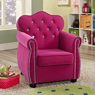 Amelia Kids Velvet Chair