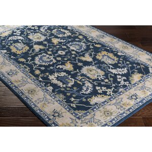 Crandon Rectangle Blue/Gray Area Rug