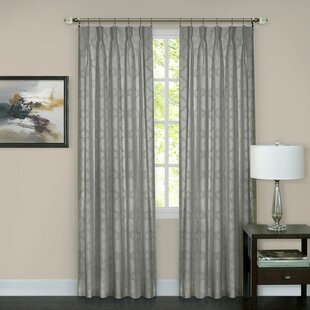 Pinch Pleated Drapes For Traverse Rods