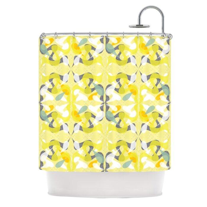 KESS InHouse Spring Flourish Shower Curtain