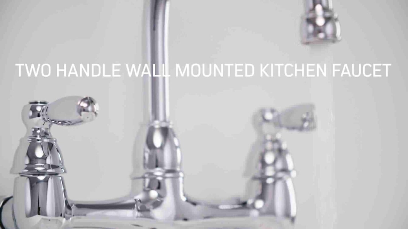 Magnificent Wall Mounted Kitchen Faucet Picture Collection - Best ...