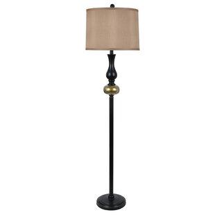 Gold floor lamps joss main wyncote 58 floor lamp aloadofball Image collections
