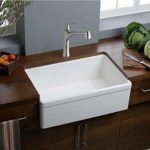 Fireclay 30 x 20 Undermount  Kitchen Sink