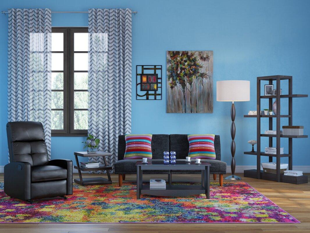 Living Room Rugs Houston Tx Bungalow Rose Massaoud Multicolor Area Rug U0026 Reviews Wayfair