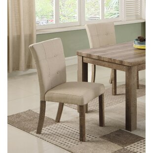 Clanton Upholstered Dining Chair (Set Of 2) Bargain
