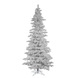 12 White Spruce Trees Artificial Christmas Tree With Stand