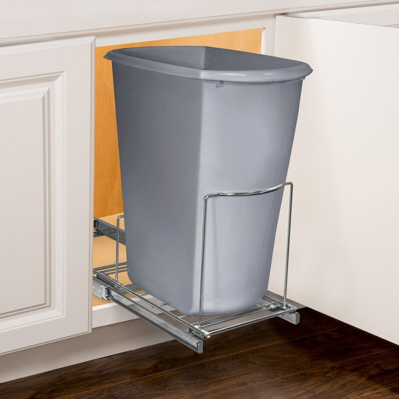 Lynk Roll Out Bin Holder Pull Out Drawer Under Cabinet
