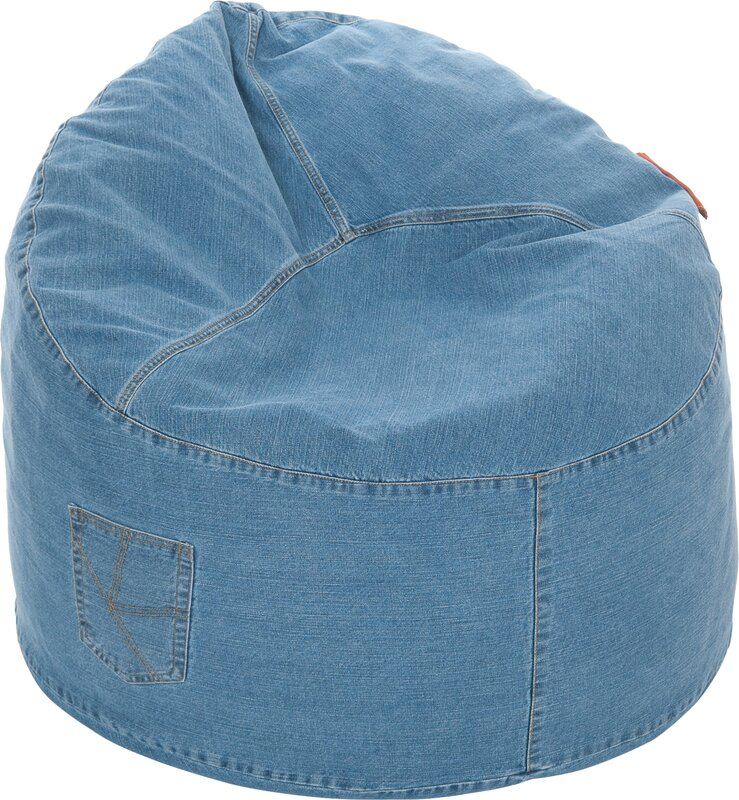 Denim Cool Chill Bean Bag Chair