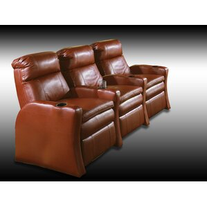 Red Barrel Studio Home Theater Recliner (Row of 3) Image