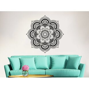 Mandala Lotus Flower Wall Decal