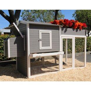 Josepha Chicken Coop With Rooftop Garden