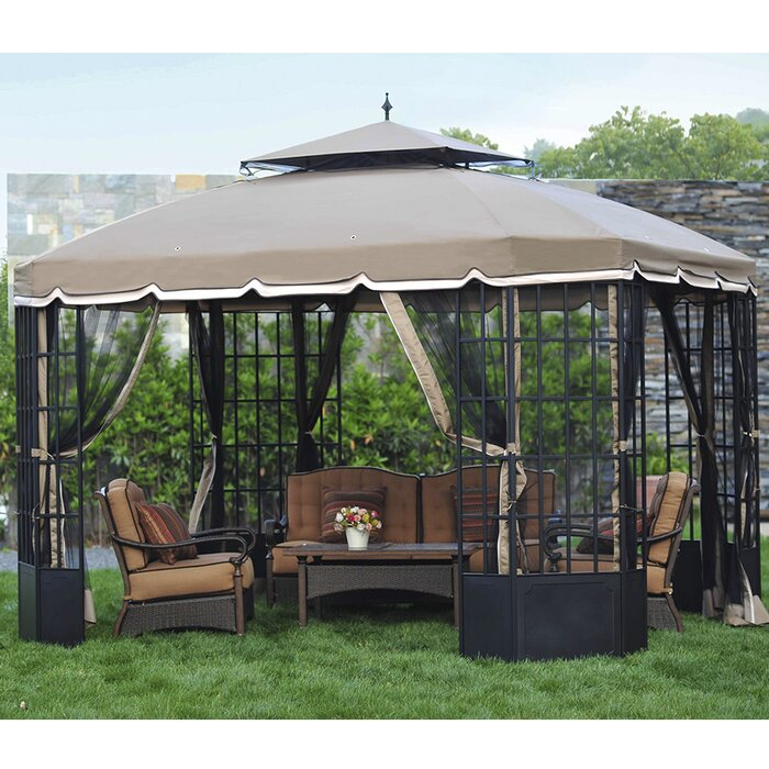 Replacement Canopy For Cambridge Gazebo