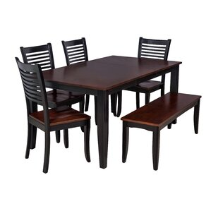 Aden 6 Piece Dining Set by TTP Furnish