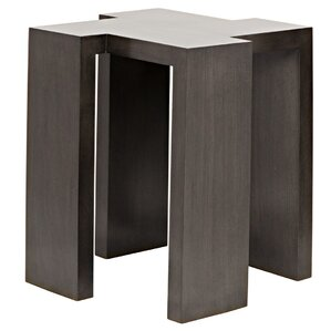 Fuji End Table by Noir
