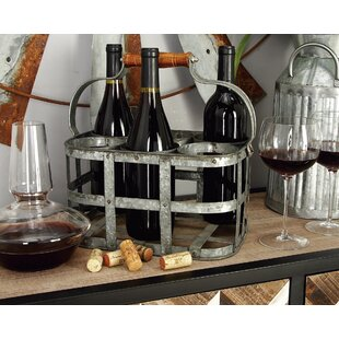 Crispin 6 Bottle Tabletop Wine Rack